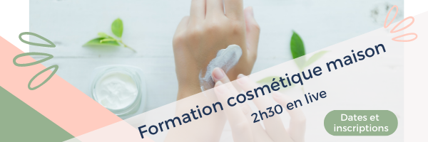 Bandeau email formation cosmetique